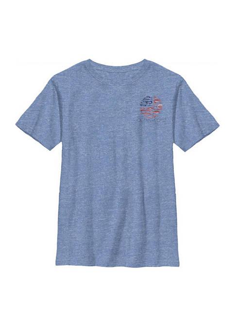 Ocean & Coast® Boys 8-20 Short Sleeve Flag