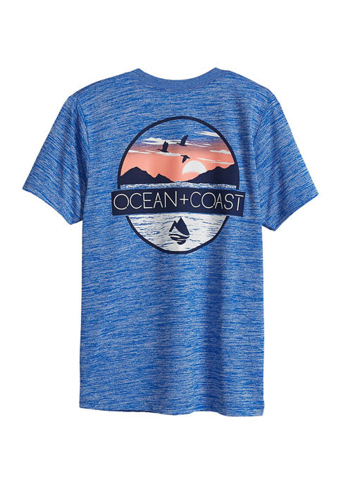 Boys 8-20 Fishing On The Edge Graphic T-Shirt