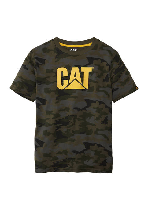 Boys 8-20 Camouflage Graphic T-Shirt