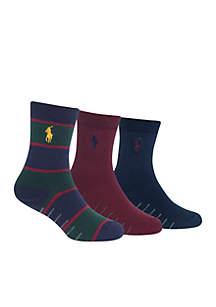 Boys 8-20 Socks 3-Pack