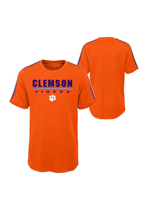 Boys-20 NCAA Clemson Tigers Certified Mesh Graphic T-Shirt
