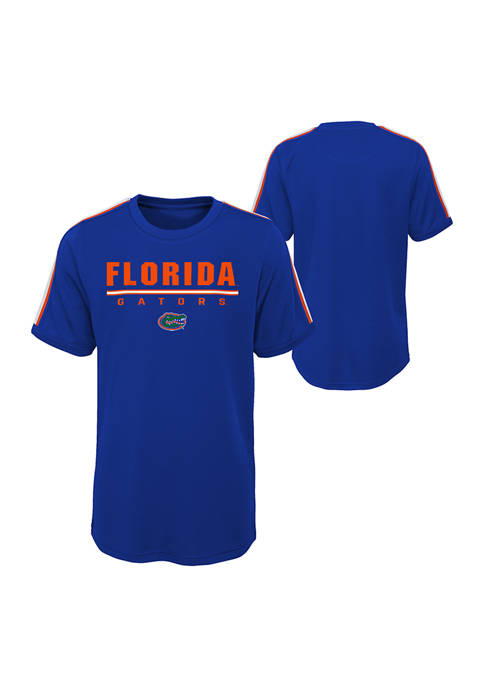 Boys-20 NCAA Florida Gators Certified Mesh Graphic T-Shirt