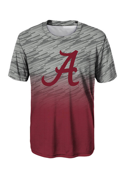 Boys 8-20 NCAA Alabama Crimson Tide Stadium Performance T-Shirt