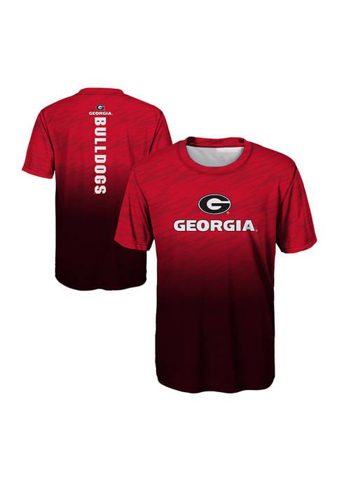 Gen2 Boys 8-20 Georgia Bulldogs Stadium Performance T-Shirt