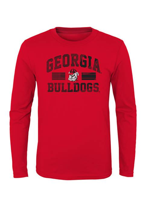 Boys 8-20 NCAA Georgia Bulldogs All for One Long Sleeve T-Shirt