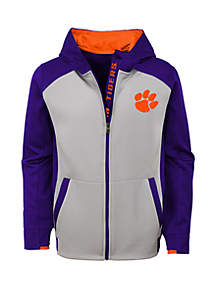 Boys 8-20 Clemson High Tech Performance Full Zip Hoodie