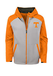 Boy's 8-20 Tennessee Volunteers Hi Tech Performance Full Zip Hoodie