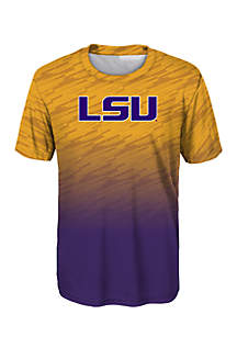 Boys 8-20 LSU Team Dri Tek Tee