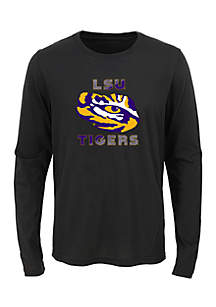 Boys 8-20 Long Sleeve LSU Tigers Team Tee