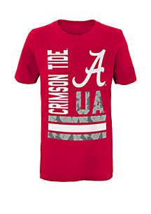 Boys 8-20 Alabama Crimson Tide D-Line Short Sleeve Tee