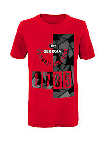 Boys 8-20 Georgia Bulldogs Deconstructed D-Line Short Sleeve Tee