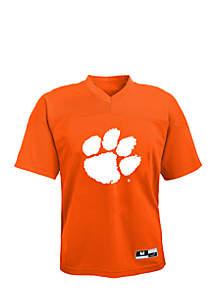Boys 8-20 Long Sleeve Clemson Tigers Team Tee