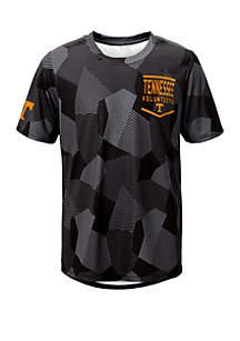 Gen2 Boys 8-20 NCAA Tennessee Volunteers Stadium Sublimated Dri Tek T-Shirt