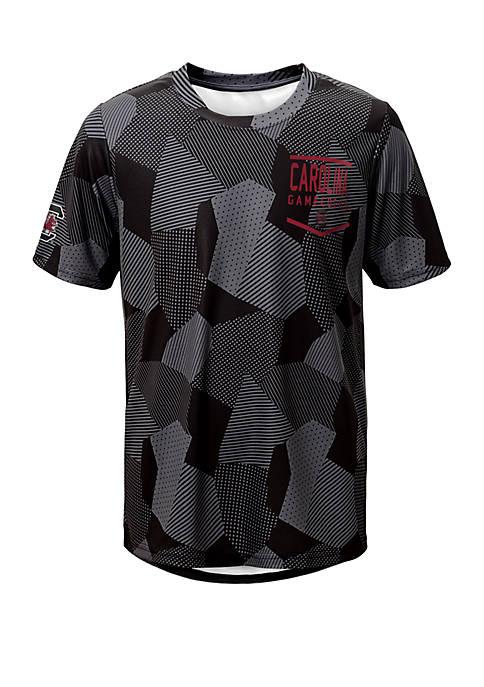 Boys 8-20 NCAA South Carolina Gamecocks Stadium Sublimated Dri Tek T-Shirt