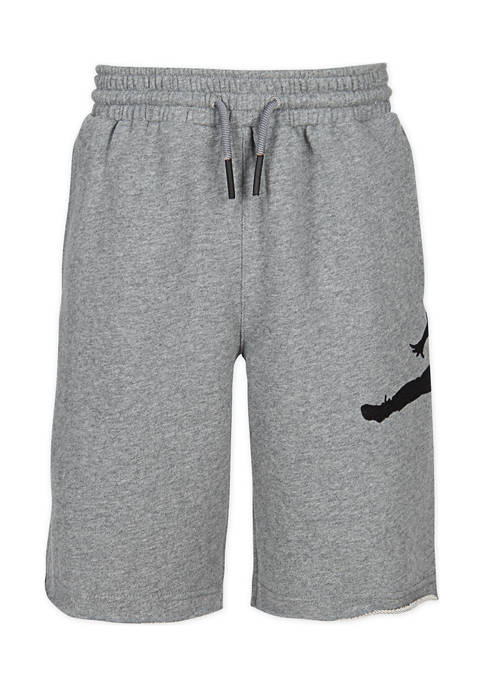 Jordan Boys 8-20 Jump Man Air Fleece Shorts