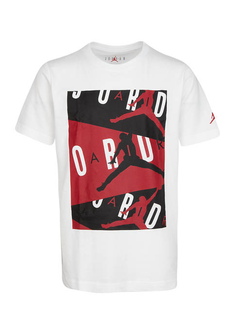 Jordan Boys 8-20 Air Short Sleeve Crew Neck