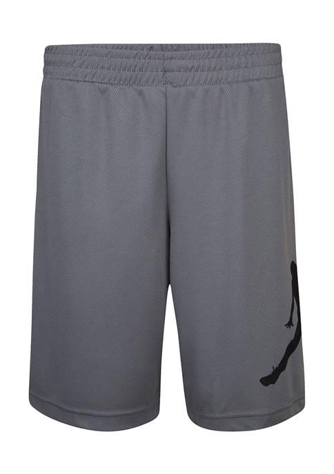 Jordan Boys 8-20 Jumpman Wrap Logo Mesh Shorts