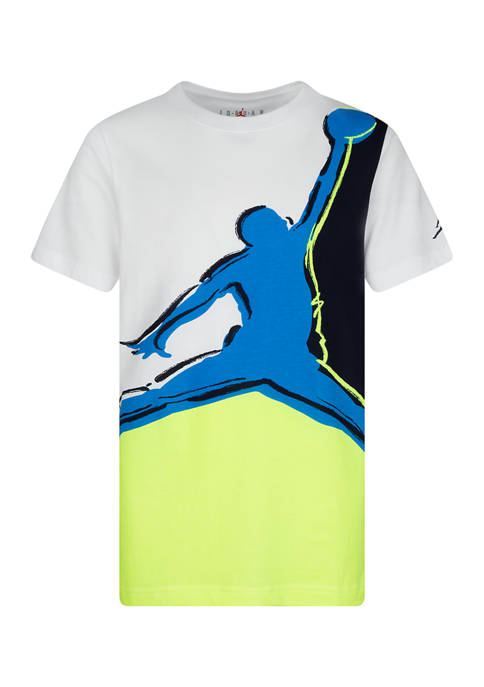 Jordan Boys 8-20 Painted Jumpman Short Sleeve T-Shirt