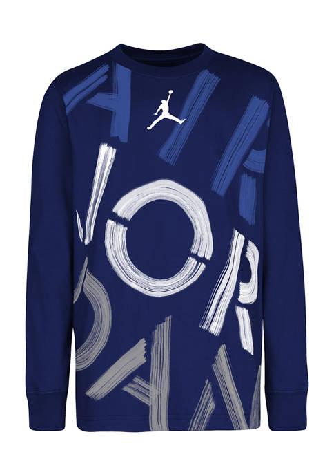 Nike® Boys 8-20 Jordan Stencil T-Shirt