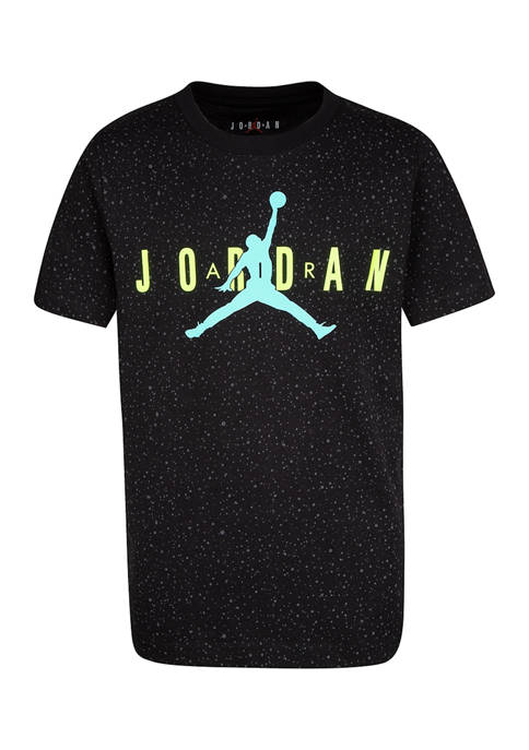 Boys 8-20 Short Sleeve Speckle T-Shirt