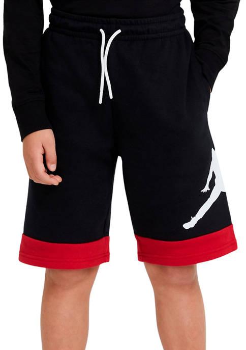 Nike® Boys 8-20 Color Block Jump Man Shorts