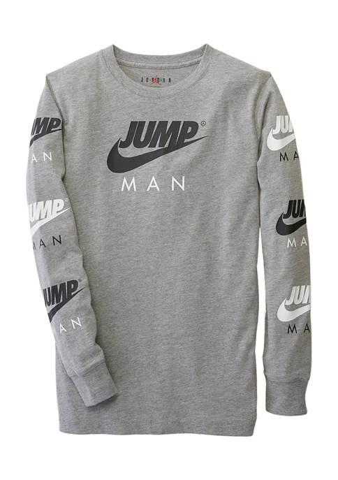 Boys 8-20 Jumpman Triple Threat T-Shirt