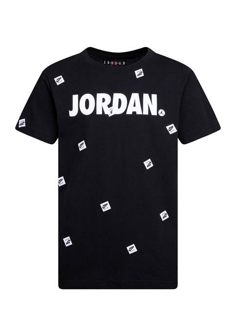Jordan Boys 8-20 Post It Up Allover Print