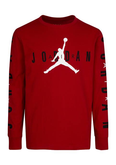 Boys 8-20 Air Jordan Long Sleeve Shirt 95A974G
