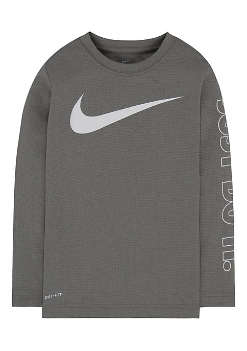 Nike® Boys 4-7 Swoosh Just Do It Dri-Fit