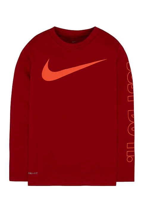 Nike® Boys 4-7 Swoosh Just Do It Dri-Fit