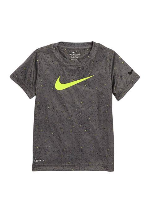 Boys 4-7 Black Top Graphic T-Shirt