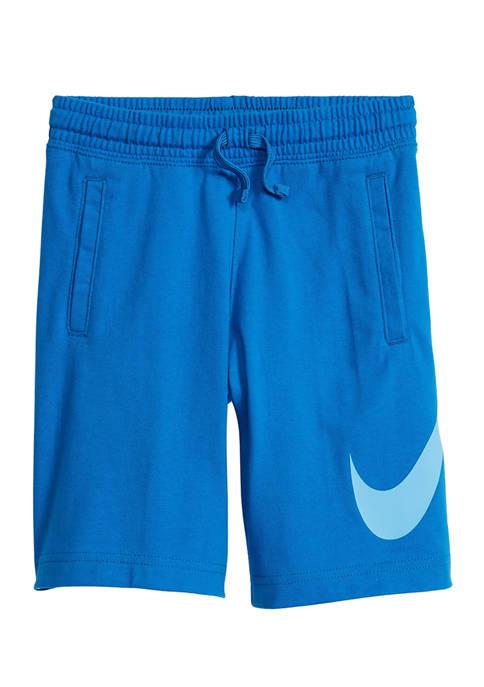Boys 4-7 Swoosh Jersey Shorts