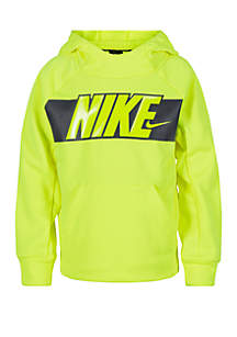 Nike® Boys 4-7 Dri-Fit Burpee French Terry Pullover Hoodie
