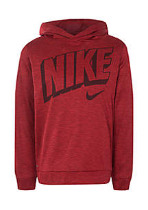 Boys 4-7 Long Sleeve Swoosh Pullover