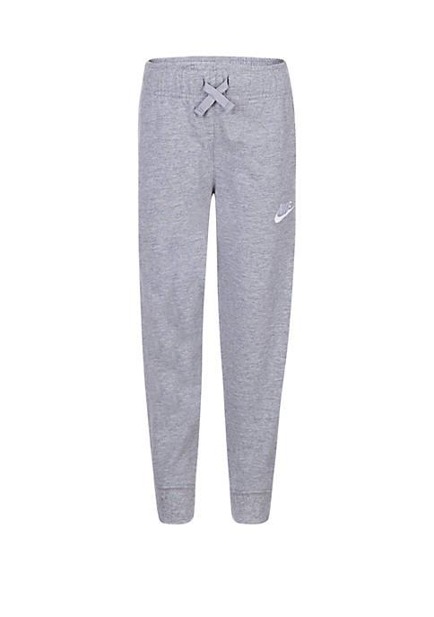 Nike® Boys 4-7 Sportswear Jersey Jogger Pants