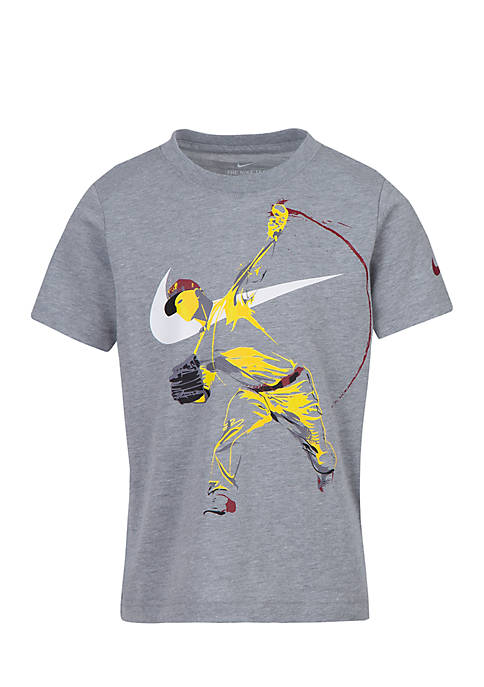Nike® Boys 4-7 Baseball Player GFX Short Sleeve