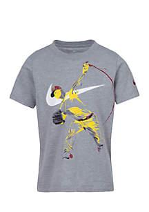 Boys 4-7 Baseball Player GFX Short Sleeve Tee
