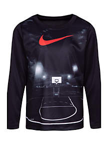 Nike® Boys 4-7 Dri-Fit Long Sleeve Friday Night Lights Tee