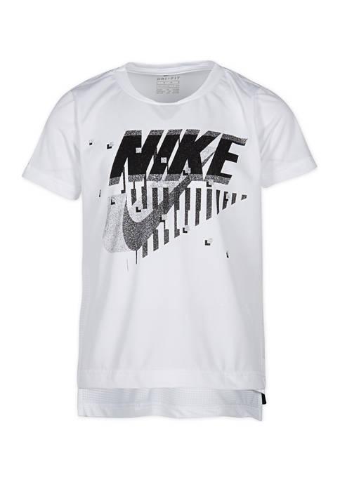Nike® Boys 4-7 Dri-FIT Legacy Short Sleeve T-Shirt