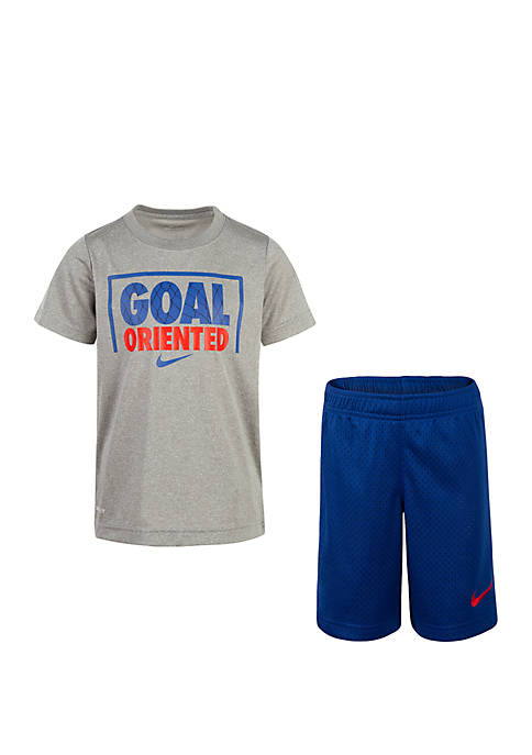 Nike® Boys 4-7 Dri-Fit Goal Oriented Short Sleeve