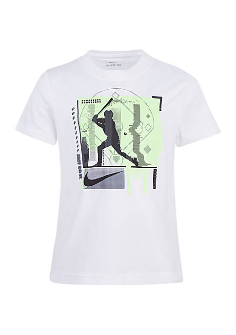 Boys 4-7 Digital Player Series Cotton Short Sleeve Tee