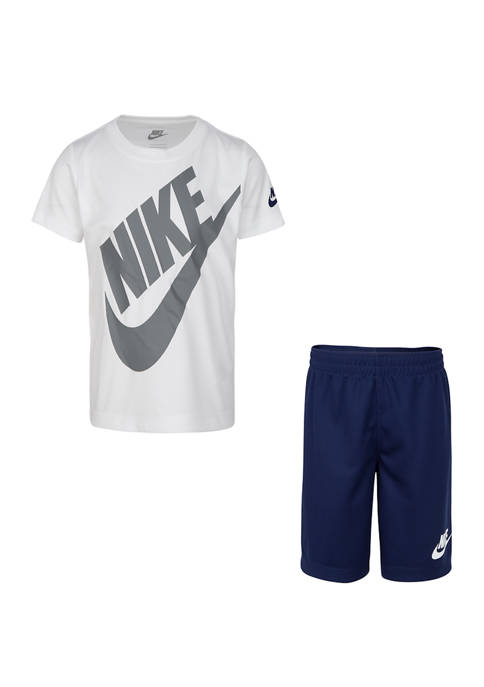 Nike® Boys 4-7 Futura Shorts Set