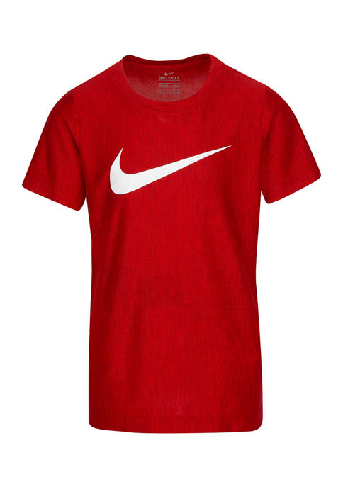 Nike® Boys 4-7 Swoosh Dry Short Sleeve T-Shirt