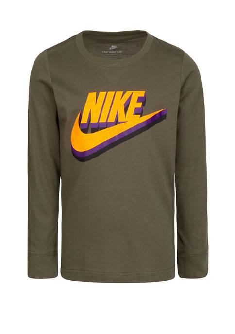Nike® Toddler Boys Stacked Textured T-Shirt