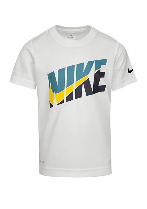 Boys 4-7 HBR Perforated Short Sleeve T-Shirt