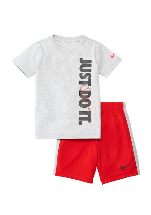 Boys 4-7 Just Do It T-Shirt and Short Set