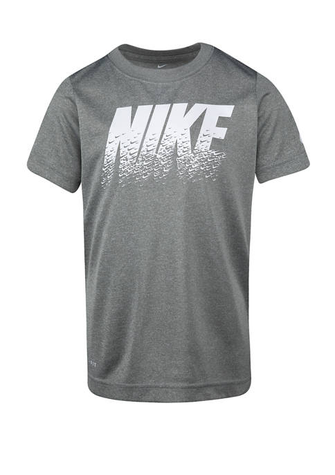 Nike® Boys 4-7 Short Sleeve Swoosh Graphic T-Shirt