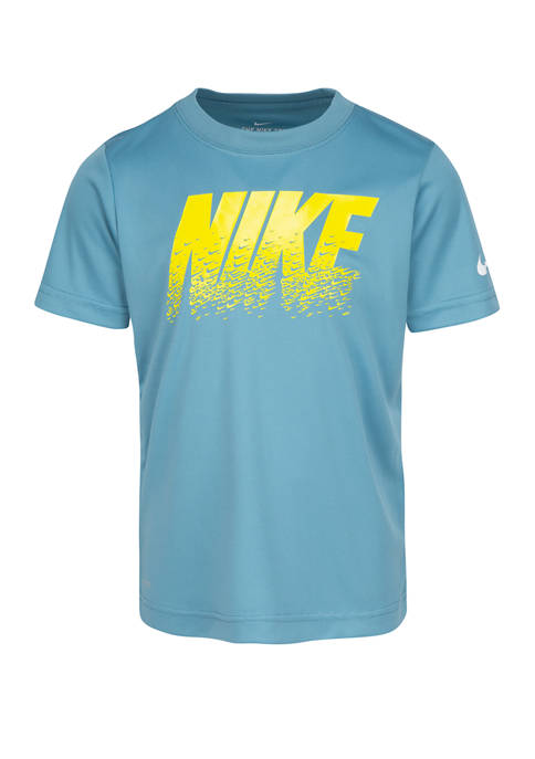 Boys 4-7 Short Sleeve Swoosh Graphic T-Shirt