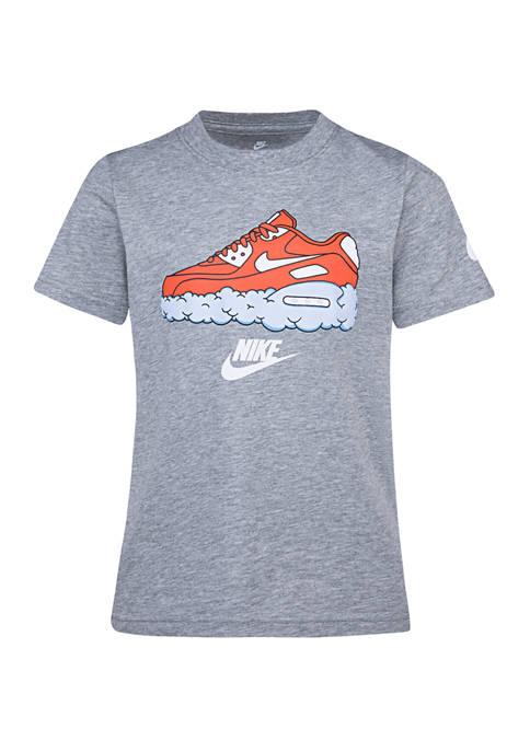 Nike® Boys 4-7 Short Sleeve Air Max Cloud