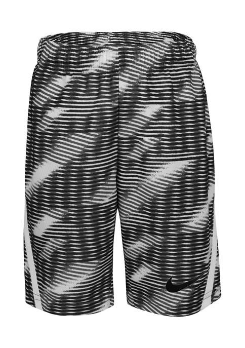 Boys 4-7 Allover Print Dri-FIT Shorts